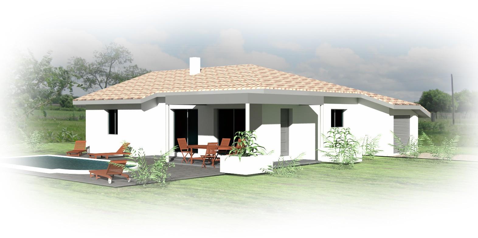 Constructeur maison dax maison moderne for Constructeur maison landes