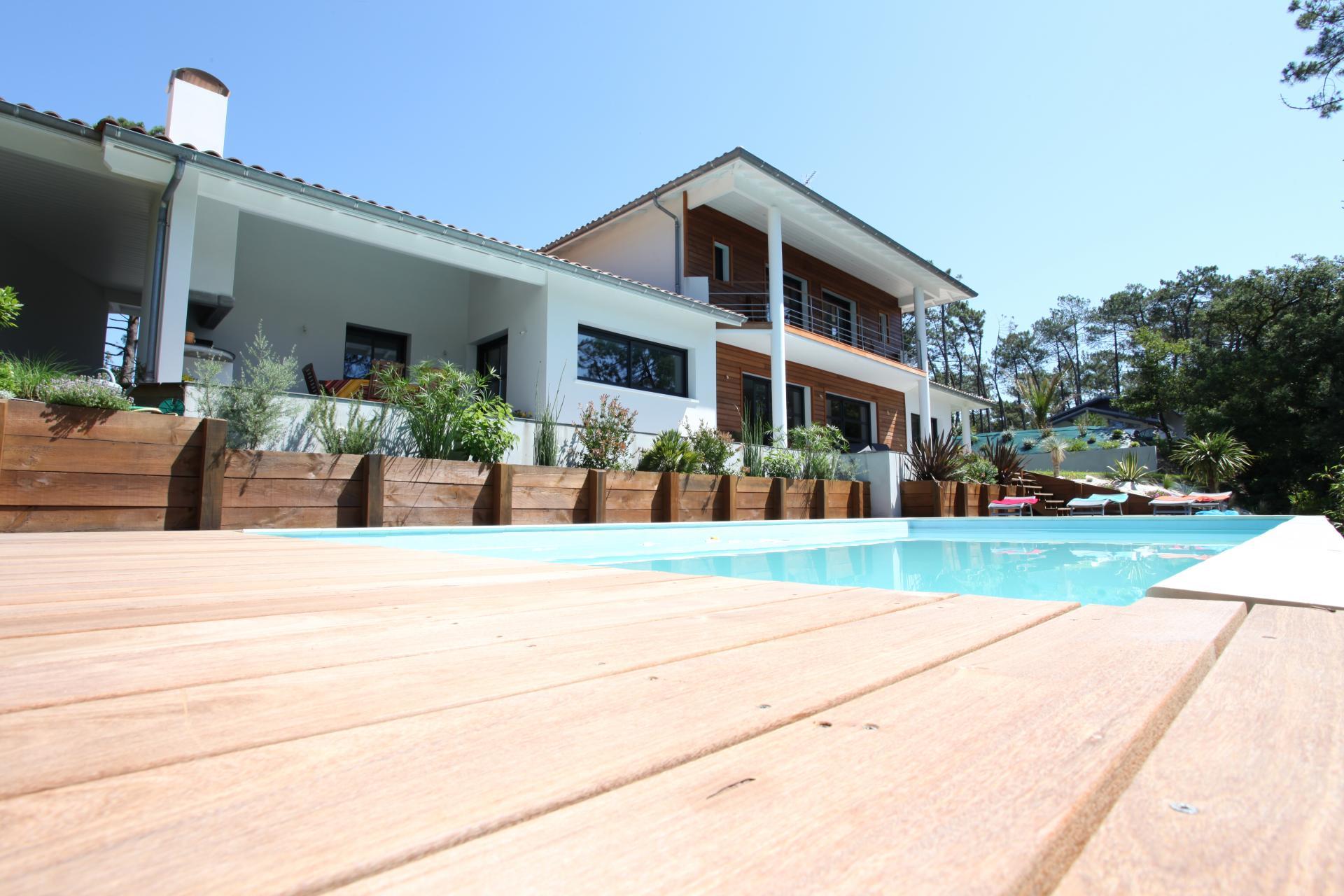 Constructeur de maison landes pays basque accueil for Constructeur maison basque
