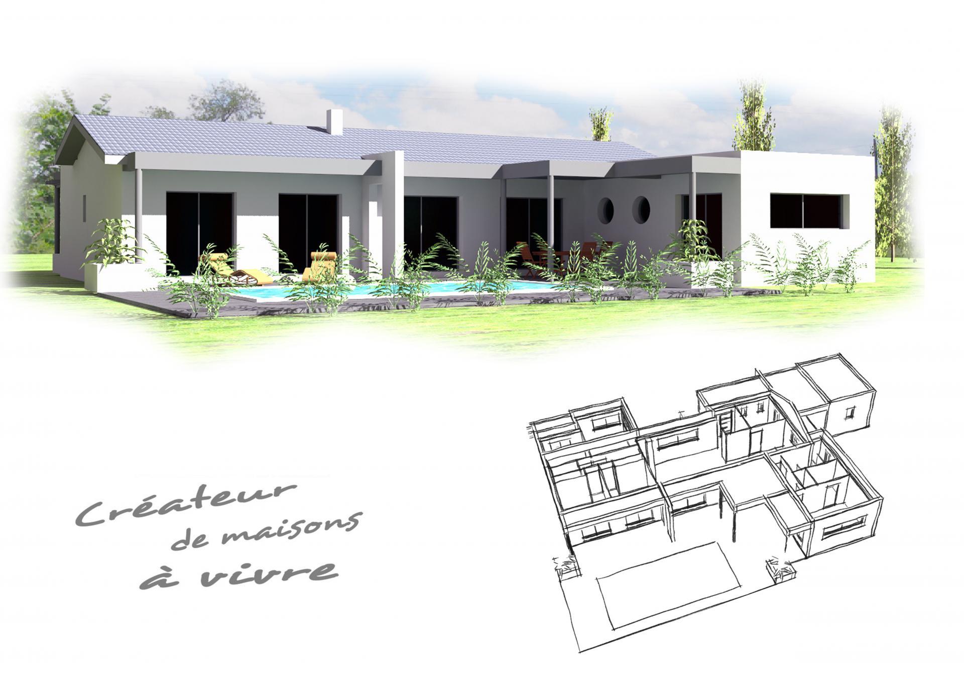 plan maison geva