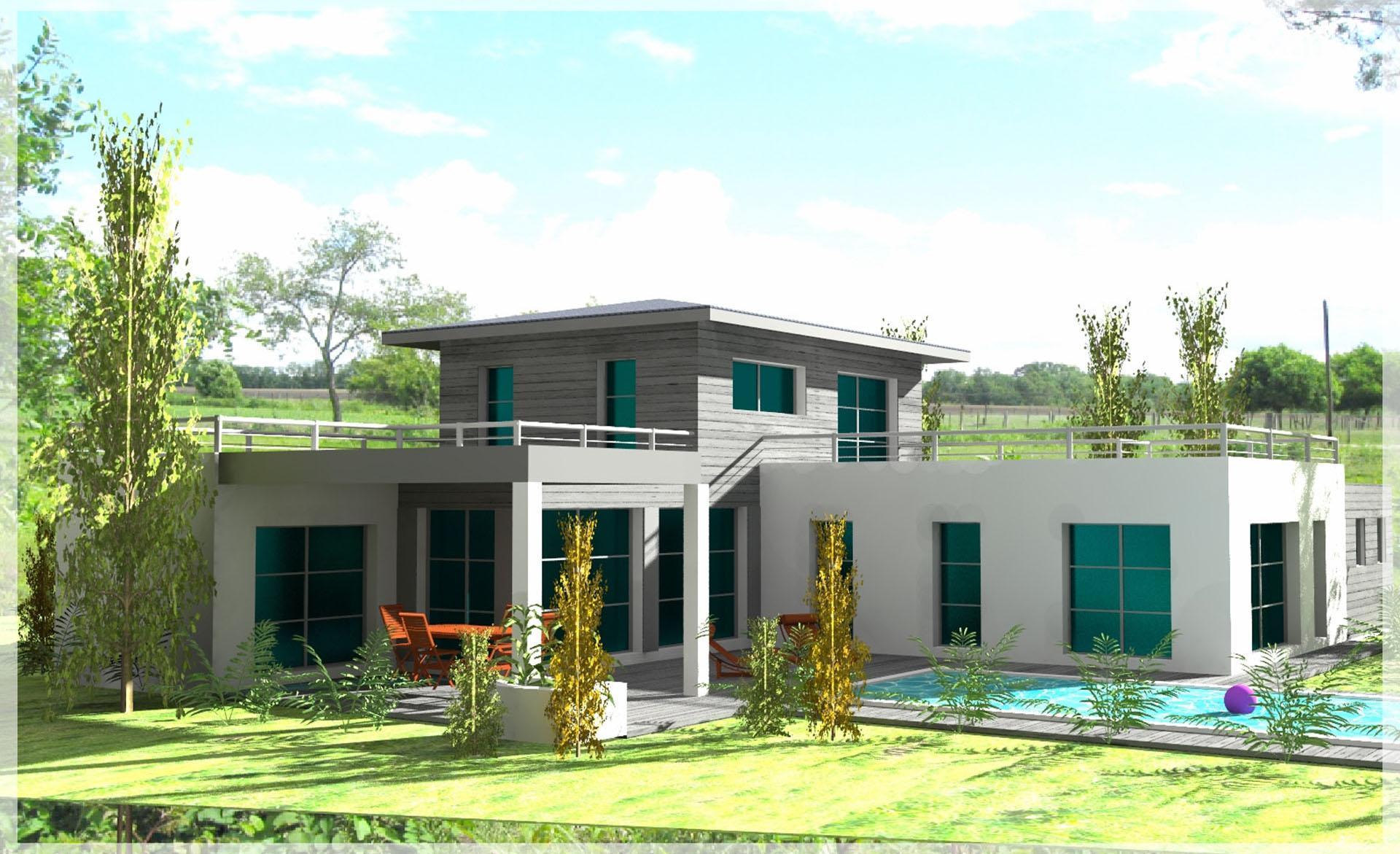 constructeur de maison landes pays basque projets. Black Bedroom Furniture Sets. Home Design Ideas